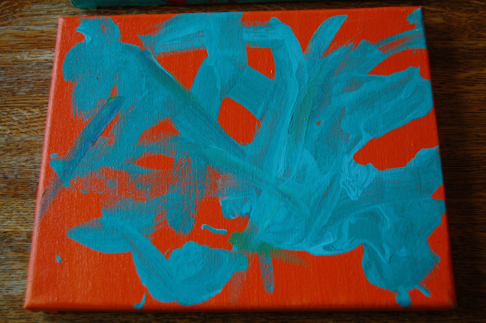 Cute canvas painting cutecanvaspaintingideas cute monkey for Cute simple paintings