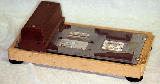 Old Fashioned Credit Card Slider