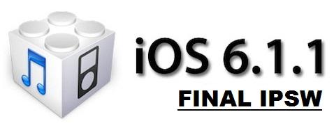 Apple iOS 6.1.1 Final IPSW Firmwares