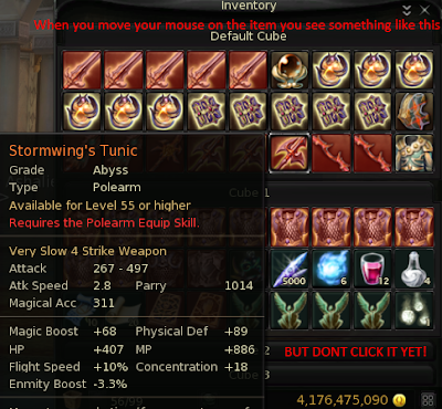 Aion items hack