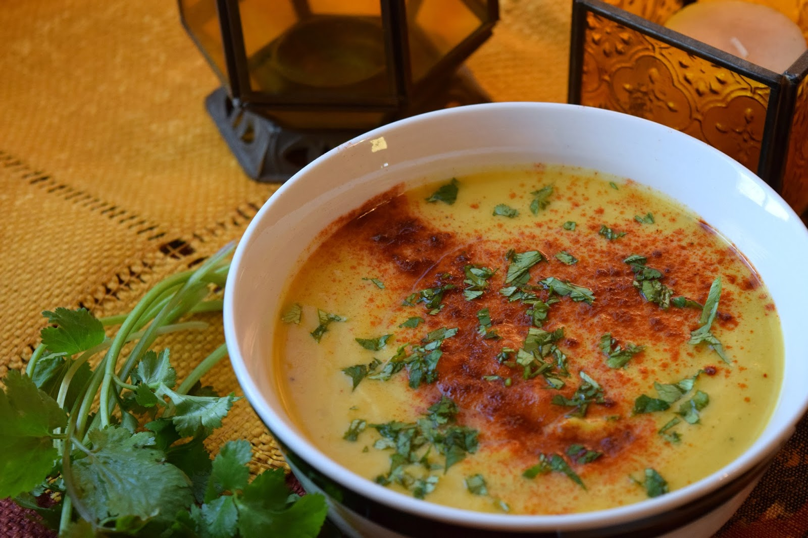 Sunshine Sweet Potato Soup