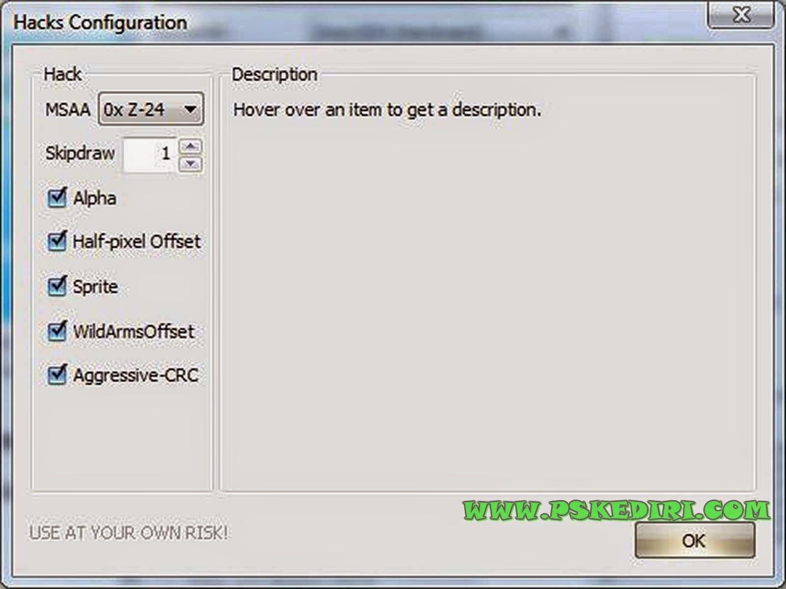 Konfigurasi HW Hack