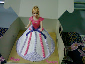 Doll Cake Fresh Cream & Fondant