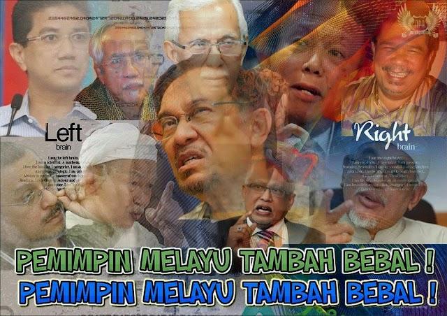 Pemimpin Melayu Lama Makin Bebal!