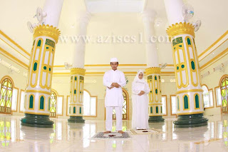 Lokasi Prewedding di mesjid banjarmasin