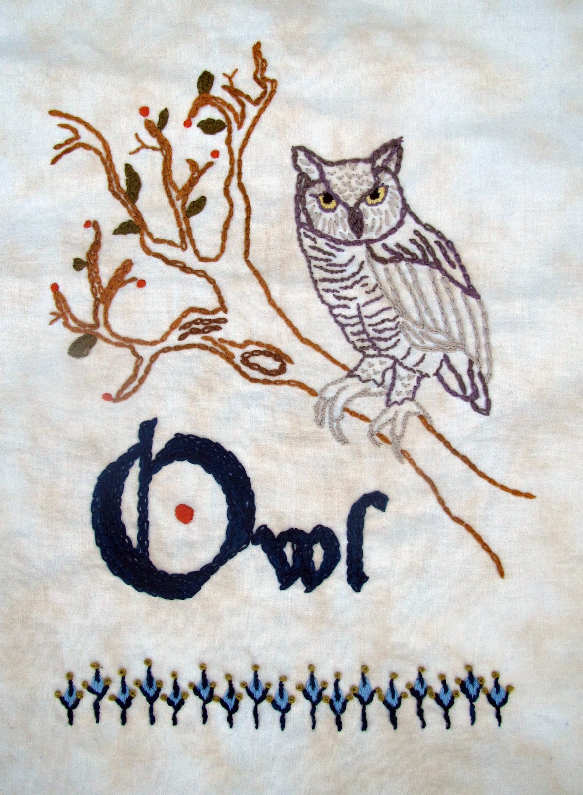 Mighty distractible august 2011 embroidery and cross stitch patterns we like to thank everyone for the warm reception to the first two patterns in the woodland series bankloansurffo Image collections