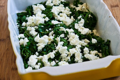 Kale and Feta Breakfast Casserole - Kalyn's Kitchen