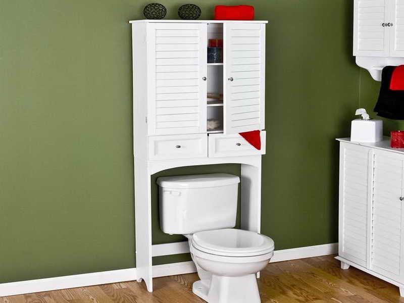 Bathroom space saver model to maximize your tiny bathroom - Maximize space in small bathroom ...