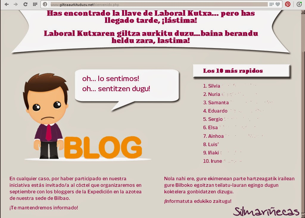 Expedición para bloggers de laboral kutxa