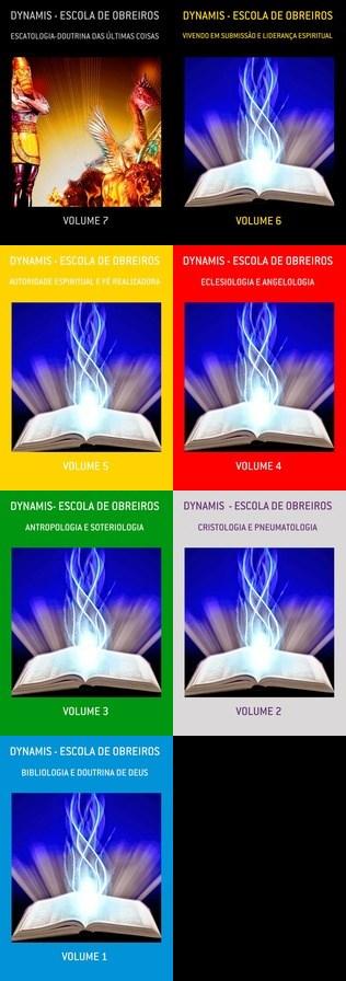 MATERIAL DIDÁTICO PARA ESCOLA DOMINICAL E FORMAÇAO DE OBREIROS - CLIQUE E ADQUIRA SEUS LIVROS