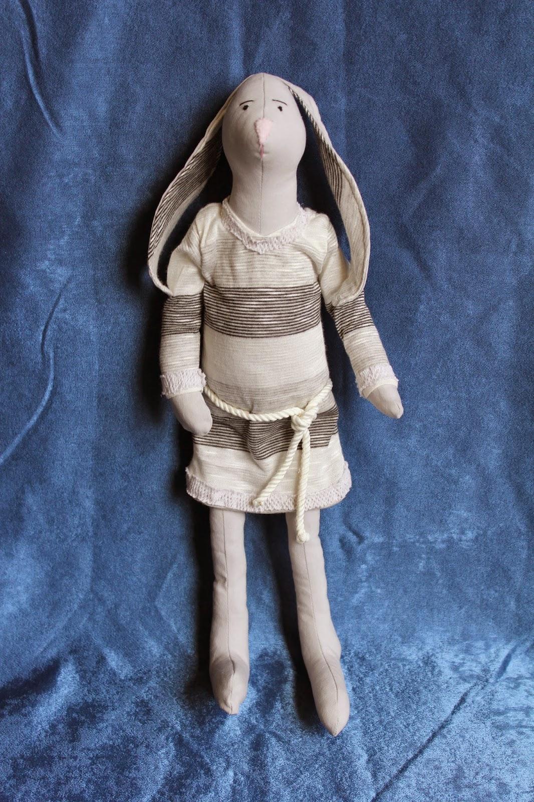 зайцы, кролики, текстильная игрушка