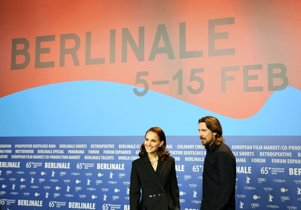 Natalie Portman y Christian Bale en Berlín