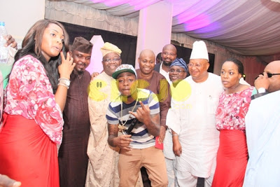 davido mother's remembrance party