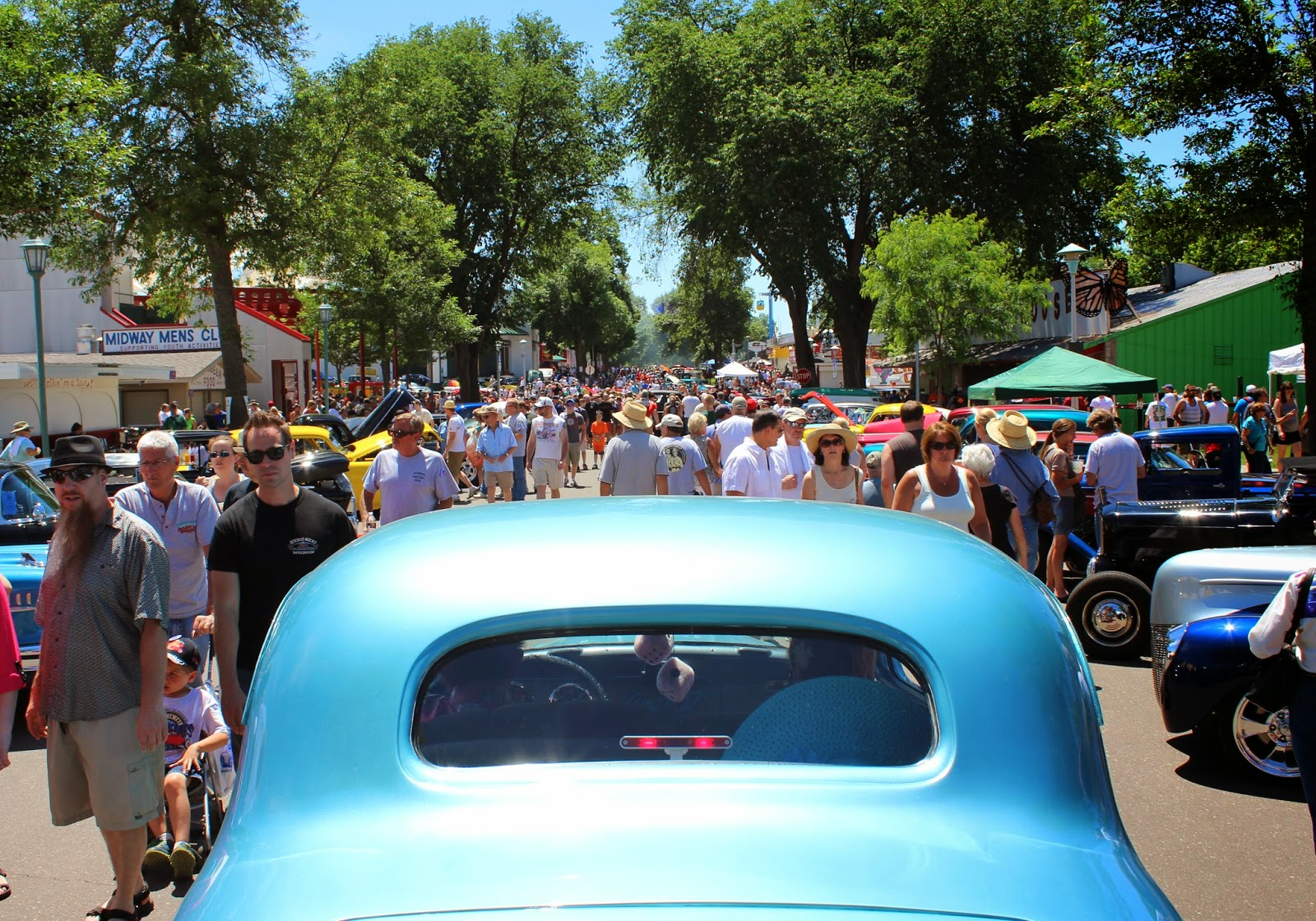 Covering Classic Cars : 2014 MSRA Back to the Fifties Weekend in St ...