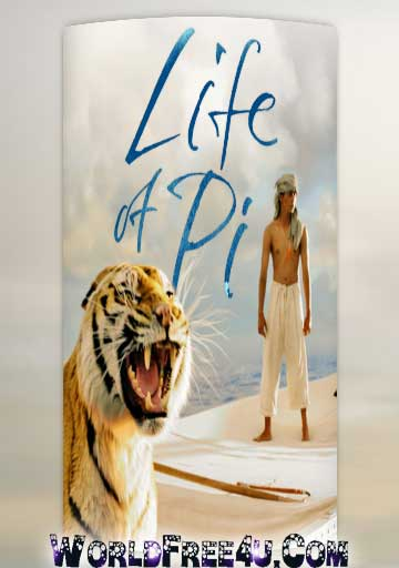 Poster Of Life of Pi (2012) Full Movie Hindi Dubbed Free Download Watch Online At Downloadingzoo.Com