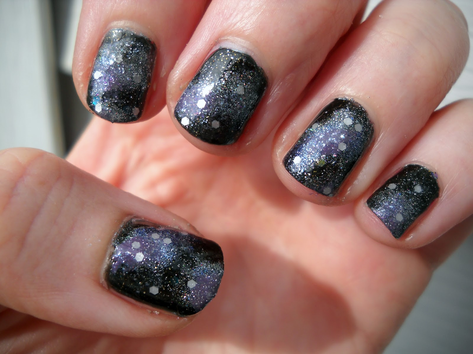 An Accent Nail: Artsy Wednesday: Galaxy Nails