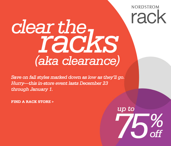 Zara & Nordstrom Rack After Christmas Clearance Sales are on now
