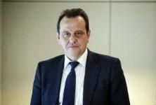Pedro Horrach, en los juzgados de Palma. / CLAUDIO ALVAREZ