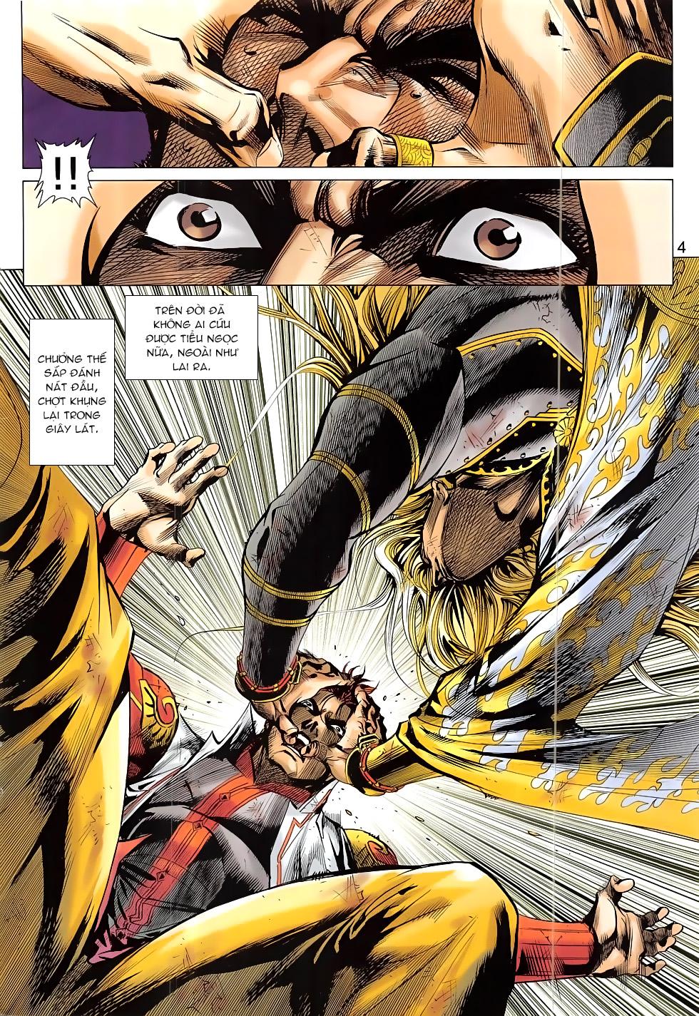 Thần Chưởng chap 24 – End Trang 4 - Mangak.info