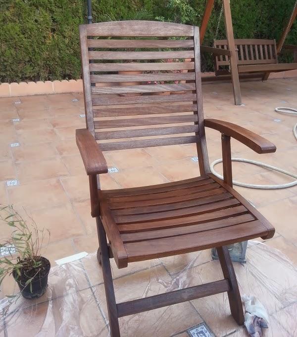 silla tratada