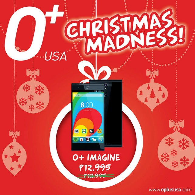 O+ Android Smartphones, O+ Christmas Madness