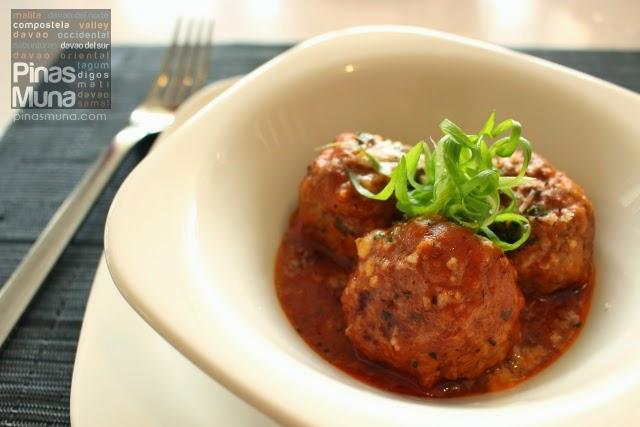 Malagos Ricotta Meatballs