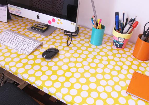Quinta da Decoração Como fazer uma mesa de porta Blog  ~ Como Fazer Uma Mesa De Estudo Para Quarto