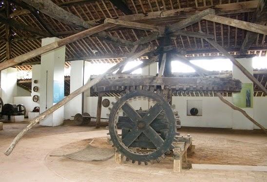 Engenho centenário no Museu da Rapadura