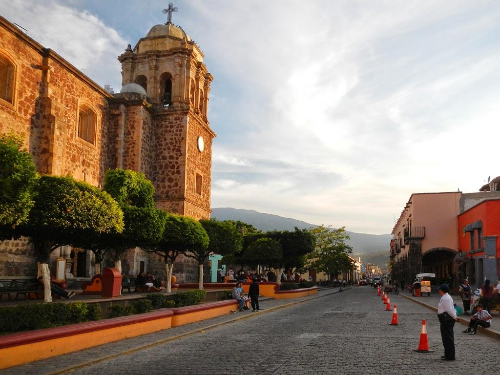 Zentrum der Ortschaft Tequila