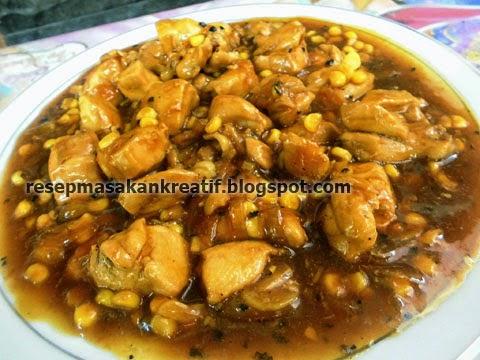 Resep Cara Membuat Ayam Fillet Lada HItam