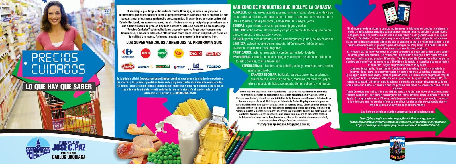 Prensa Municipalidad Jos C Paz Precios Cuidados Lo Que