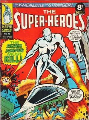 Marvel UK, The Super-Heroes #15, the Silver Surfer