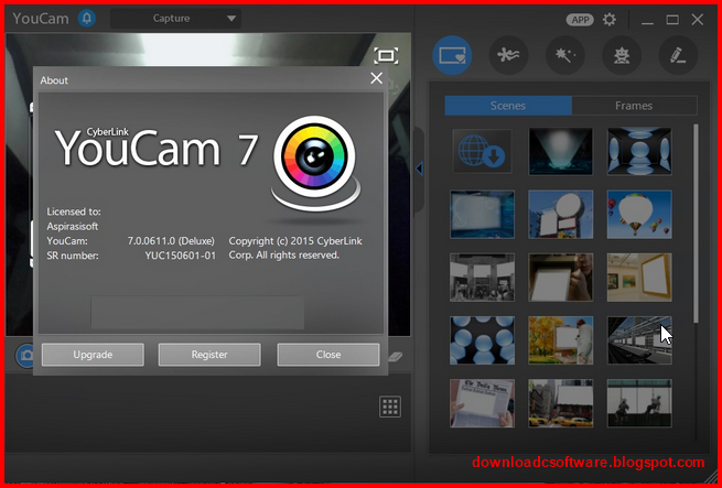 how to turn on youcam