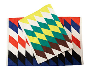 Duro Olowu jcpenney collabo - Dhurrie rug - iloveankara.blogspot.co.uk