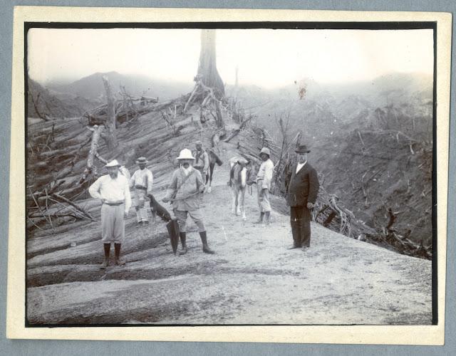La Soufrière, St Vincent, 1902