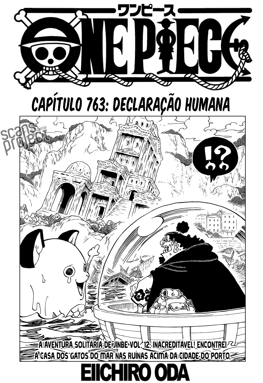 One Piece 763 Mangá Português leitura online
