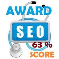 samsury seo score 63%