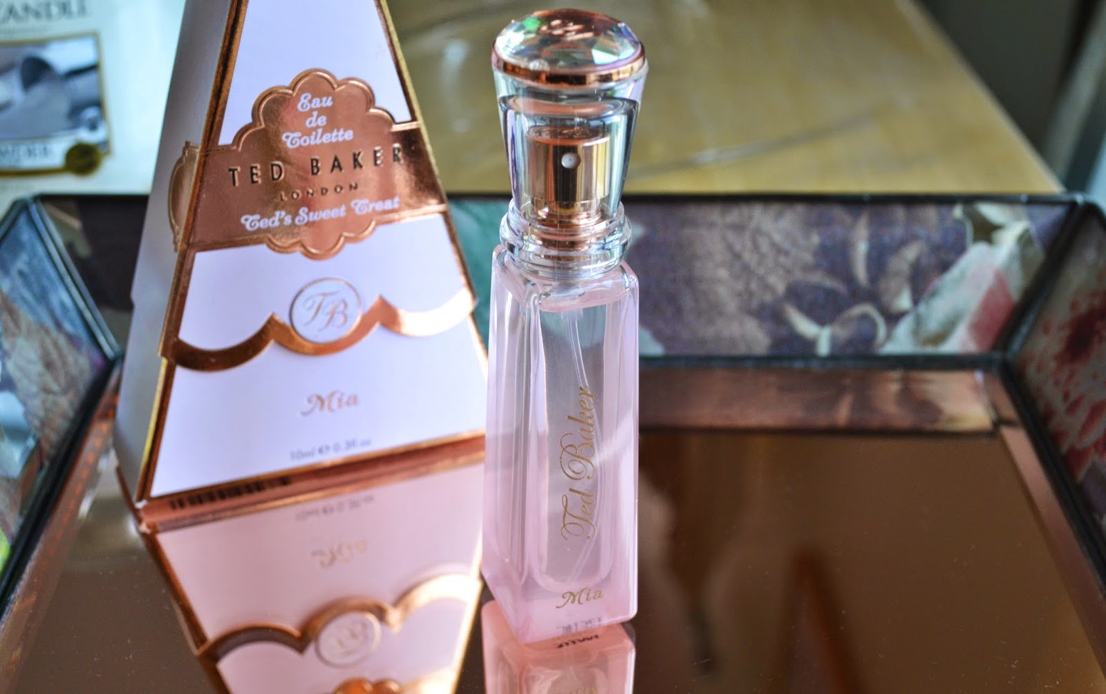 Ted Baker Mia Purse Spray Fragrance - Aspiring Londoner