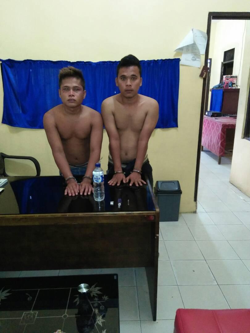 Lagi Asik Nyabu, Dua Pemuda Paluta Ditangkap Polisi