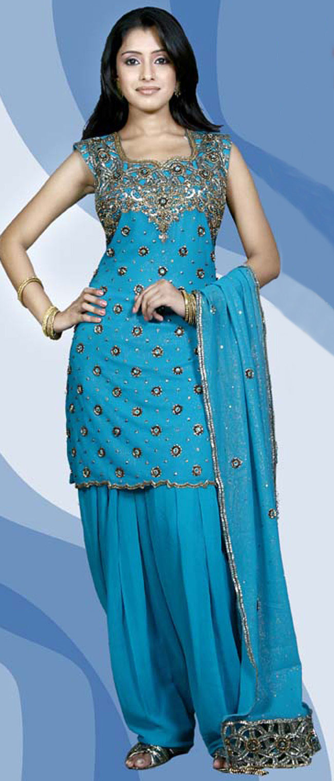 City 4 unlimited fun and masti punjabi patiala suits for Girls suit design
