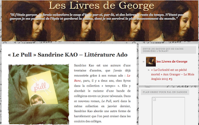 https://leslivresdegeorgesandetmoi.wordpress.com/2015/05/09/le-pull-sandrine-kao-litterature-ado/#more-25100