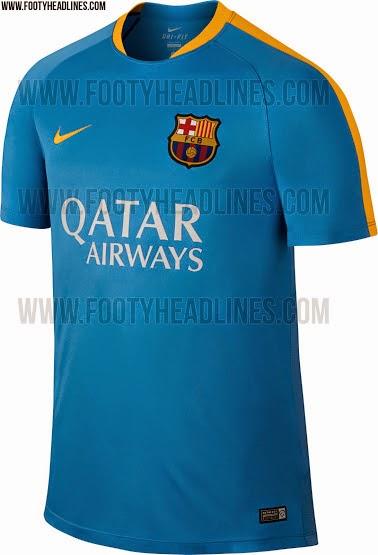 gambar jersey training terbaru musim depan 2015/2016
