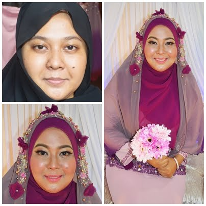 Makeup Bertunang 7 Feb 2016