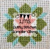 http://www.littlemissshabby.com/2014/01/stitchy-fun-sampler-along/