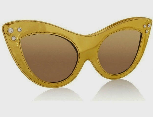 Charlotte Olympia Sunny Patent Leather Sunglasses Bag TALESTRIP