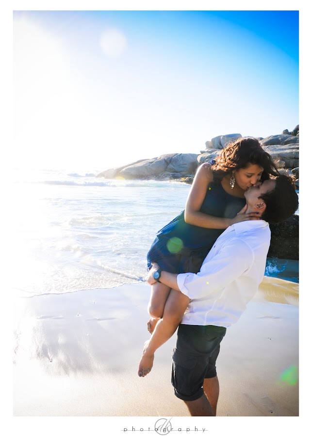 DK Photography Niq9 Niquita & Lance's Engagement Shoot on Llandudno Beach  Cape Town Wedding photographer