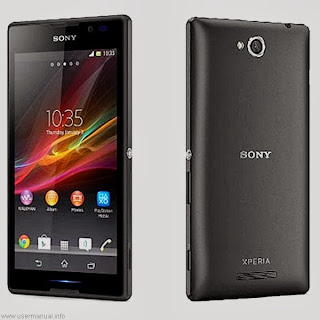Sony Xperia C 2305 user guide manual