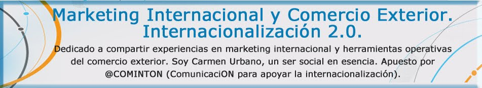 Marketing Internacional y Comercio Exterior. Internacionalización.