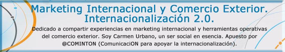 Marketing Internacional y Comercio Exterior. Internacionalización.