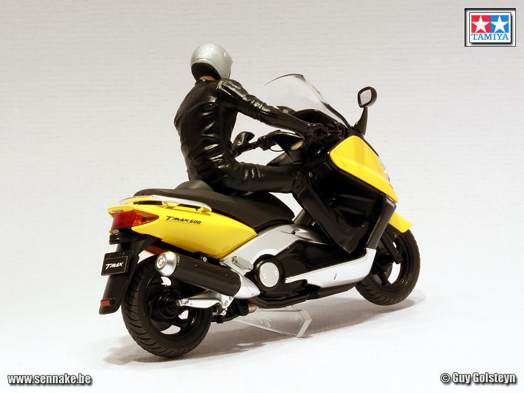 racing scale models yamaha t max 500 2001 by sennake tamiya. Black Bedroom Furniture Sets. Home Design Ideas